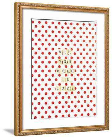 All you Need is Love-Libertad Leal-Framed Premium Photographic Print