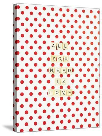 All you Need is Love-Libertad Leal-Stretched Canvas Print