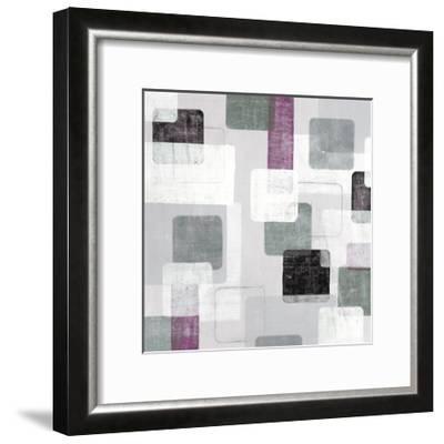 Tiles B-JB Hall-Framed Premium Giclee Print
