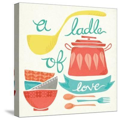 A Ladle of Love-Mary Urban-Stretched Canvas Print