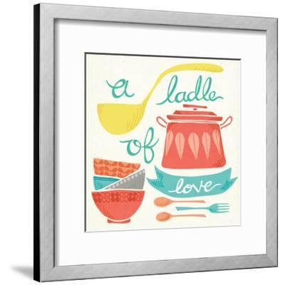 A Ladle of Love-Mary Urban-Framed Art Print