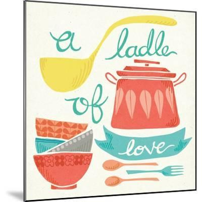 A Ladle of Love-Mary Urban-Mounted Art Print