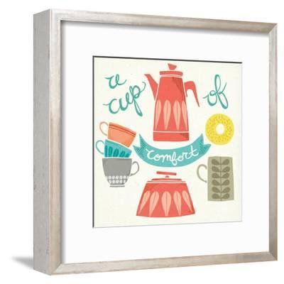 A Cup of Comfort-Mary Urban-Framed Art Print