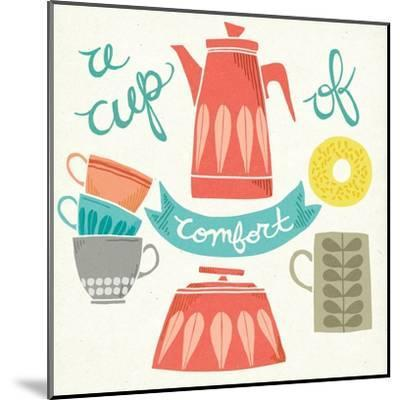 A Cup of Comfort-Mary Urban-Mounted Art Print