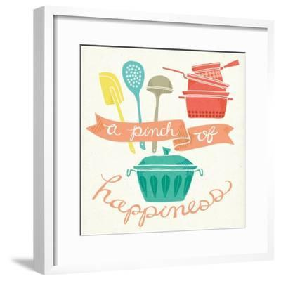 A Pinch of Happiness-Mary Urban-Framed Art Print