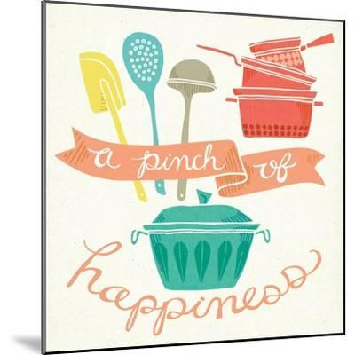 A Pinch of Happiness-Mary Urban-Mounted Art Print