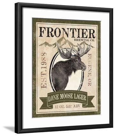 Frontier Brewing II-Laura Marshall-Framed Art Print