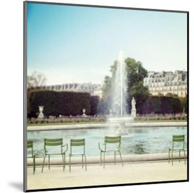 Paris Moments V-Laura Marshall-Mounted Art Print
