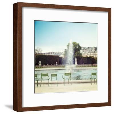 Paris Moments V-Laura Marshall-Framed Art Print
