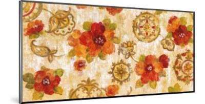 Hibiscus and Mandala-Silvia Vassileva-Mounted Art Print