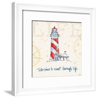 Coastal Life VI-Anne Tavoletti-Framed Art Print