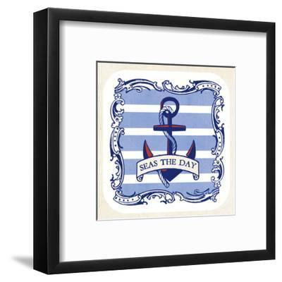 On the Coast Border I- Studio Mousseau-Framed Art Print