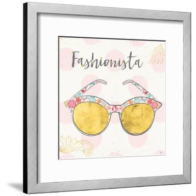 Fashion Blooms IV-Jess Aiken-Framed Art Print