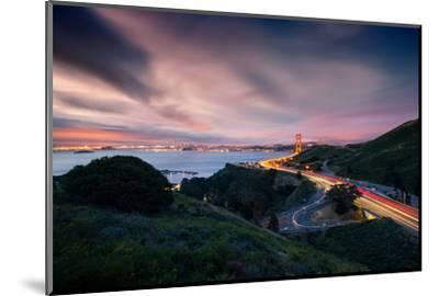Grand East View, Beautiful Golden Gate Bridge, San Francisco Cityscape-Vincent James-Mounted Photographic Print