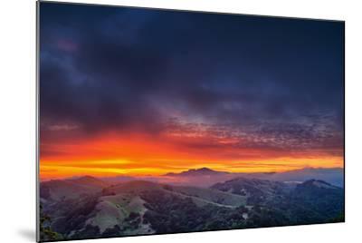 Diablo Awakens, Epic San Francisco Bay Area Sunrise-Vincent James-Mounted Photographic Print