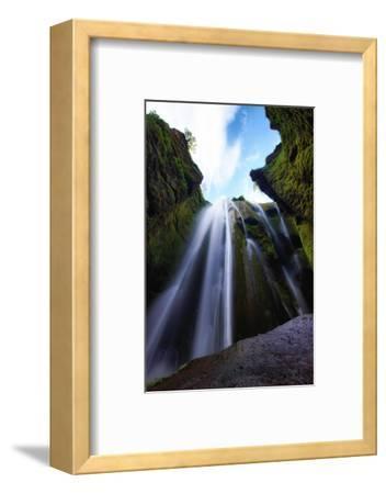 Magical Gljúfrafoss, Waterfall Southern Iceland Coast-Vincent James-Framed Photographic Print