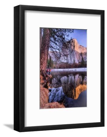 El Capitan Riverside Reflections, Yosemite National Park-Vincent James-Framed Photographic Print