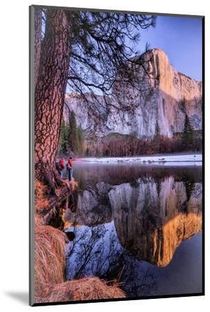 El Capitan Riverside Reflections, Yosemite National Park-Vincent James-Mounted Photographic Print