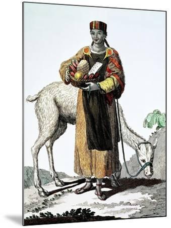 India Del Perú, Colección de Trajes, 1777, Grabado, Colección Privada, Francia-Juan de la Cruz Cano y Olmedilla-Mounted Giclee Print
