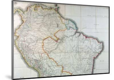 Mapa Geografico de America Meridional, 1799-Juan de la Cruz Cano y Olmedilla-Mounted Giclee Print