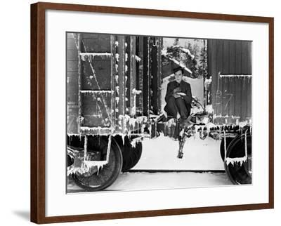 Buster Keaton, Go West, 1925--Framed Photographic Print