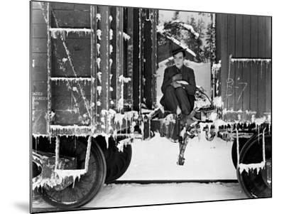 Buster Keaton, Go West, 1925--Mounted Photographic Print