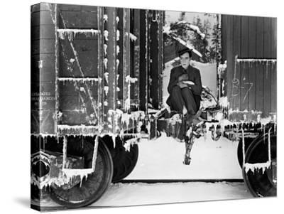 Buster Keaton, Go West, 1925--Stretched Canvas Print