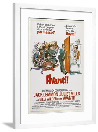 Avanti!, 1972--Framed Giclee Print