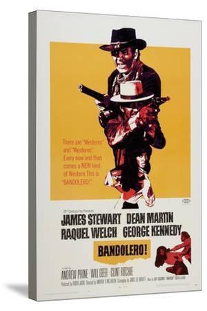 Bandolero!, 1968--Stretched Canvas Print