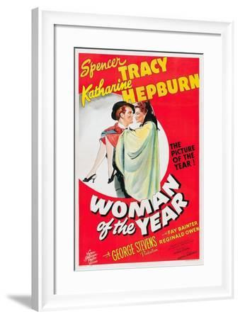 Woman of the Year, 1942--Framed Giclee Print