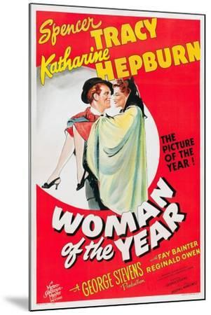 Woman of the Year, 1942--Mounted Giclee Print