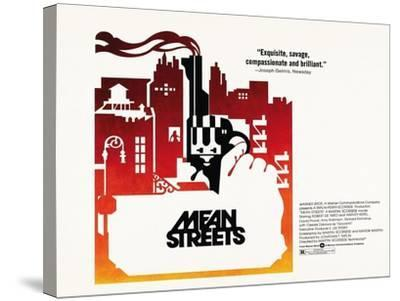 Mean Streets, 1973--Stretched Canvas Print
