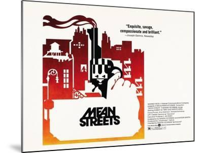 Mean Streets, 1973--Mounted Giclee Print