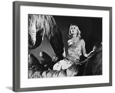 Jessica Lange, King Kong, 1976--Framed Photographic Print