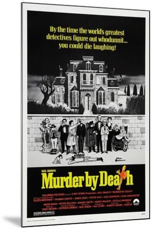 Murder by Death, 1976--Mounted Giclee Print