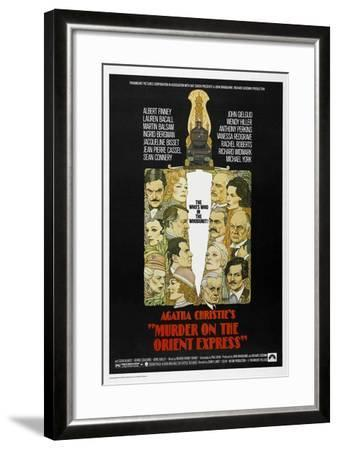 Murder on the Orient Express, 1974--Framed Giclee Print