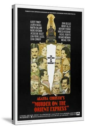 Murder on the Orient Express, 1974--Stretched Canvas Print