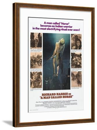 A Man Called Horse, 1970--Framed Giclee Print