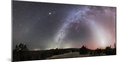 Milky Way, Zodiacal Light and Other Celestial Objects, Gila National Wilderness, New Mexico-Stocktrek Images-Mounted Photographic Print