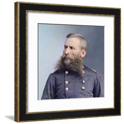 Civil War Portrait of General George Crook-Stocktrek Images-Framed Photographic Print