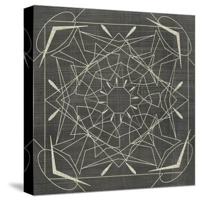 Geometric Tile VII-Chariklia Zarris-Stretched Canvas Print