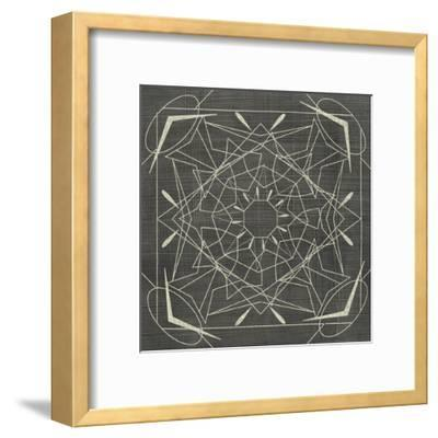 Geometric Tile VII-Chariklia Zarris-Framed Art Print