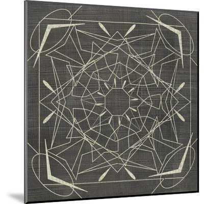 Geometric Tile VII-Chariklia Zarris-Mounted Art Print