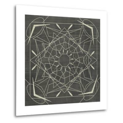 Geometric Tile VII-Chariklia Zarris-Metal Print