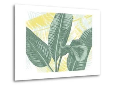 Illustrated Palms II-Grace Popp-Metal Print