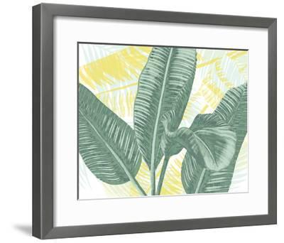 Illustrated Palms II-Grace Popp-Framed Art Print