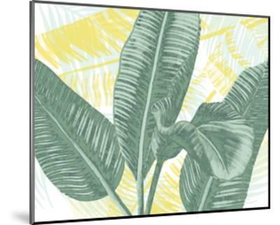 Illustrated Palms II-Grace Popp-Mounted Art Print