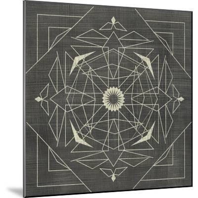 Geometric Tile IX-Chariklia Zarris-Mounted Art Print