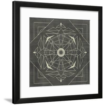Geometric Tile IX-Chariklia Zarris-Framed Art Print
