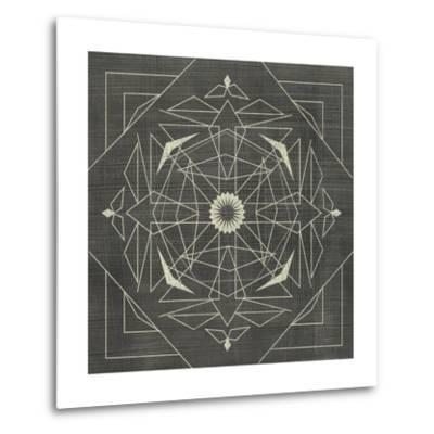 Geometric Tile IX-Chariklia Zarris-Metal Print